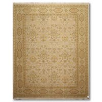 """Traditional Hand Knotted Reversible Soumak Oriental Area Rug (8'x10'4"""")"""