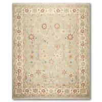 "Patterned Hand Knotted Reversible Soumak Oriental Area Rug - 8'10""x11'10"""