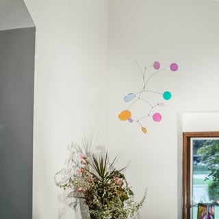 Canneto Studios' Opalus Collection - Hanging Kinetic Art Mobile - Light Moves - Small