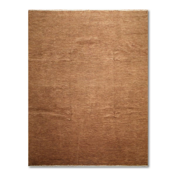 Contemporary Textured Gabbeh Hand Knotted Persian Oriental Area Rug (9'x12')