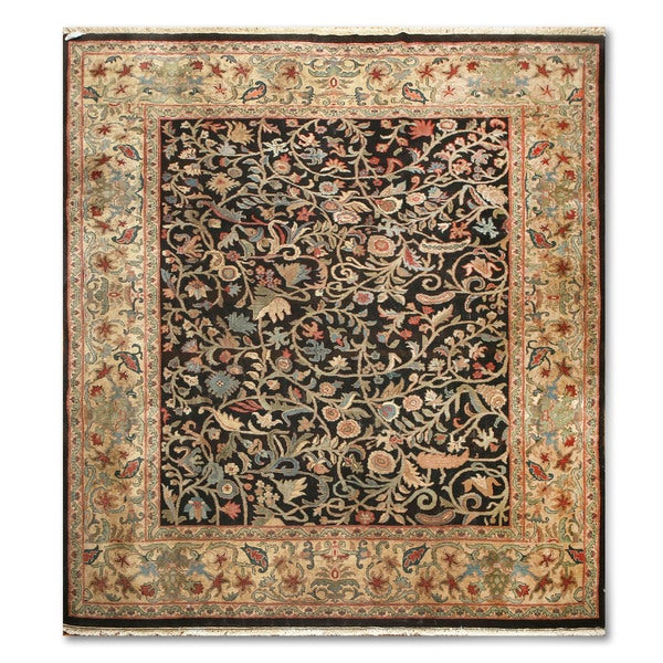 "Traditional Ornamental Hand Knotted Persian Oriental Area Rug - 9'11""x11'5"""