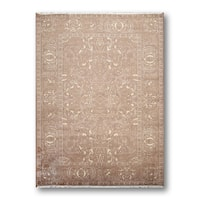 Transitional Eclectic Glam Oriental Area Rug (6'x9') - 6' x 9'