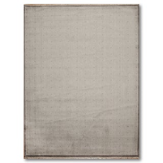 Contemporary Modern Slate and Dots Oriental Area Rug (6'x9') - multi - 6' x 9'