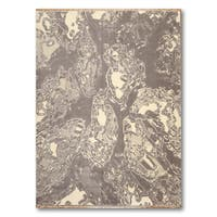 Industrial Abstract Glam Modern Oriental Area Rug  (6'x9') - multi - 6' x 9'
