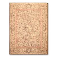 """Hand Woven Traditional Floral Needlepoint Area Rug - 6'11""""x9'2"""""""