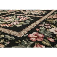 Classic French Country Traditional Needlepoint Area Rug