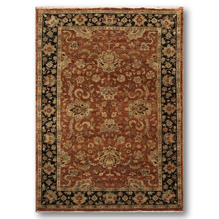 Classic Traditional Hand Knotted Pure Wool Persian Oriental Area Rug (6'x9')