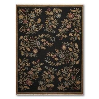 Reversible Hand Knotted Soumak Nourison Nourmak Oriental Wool Rug (6'x9')