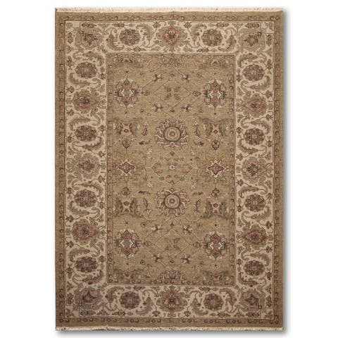 Buy Border Hand Knotted Area Rugs Online At Overstock Our Best Rugs Deals