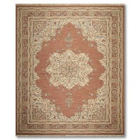 "Reversible Hand Knotted Soumak Oriental Area Rug - 9'1""x12'2"""