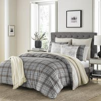 Stone Cottage Granton Grey Duvet Cover Set