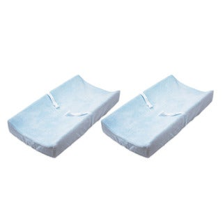 Summer Infant Ultra Plush Change Pad Cover IN BLUE SET OF 2