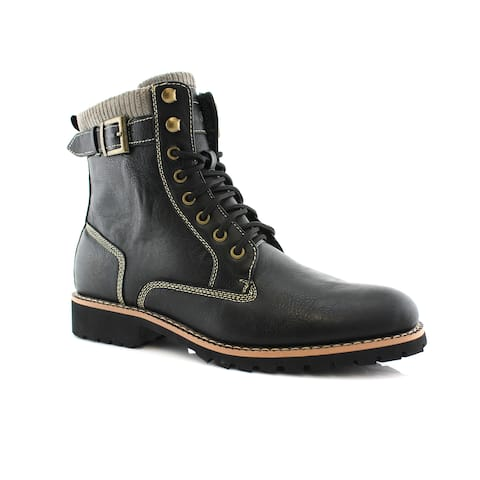 Polar Fox Baldwin MPX508572 Men's Combat Boots For Casual Wear or Work