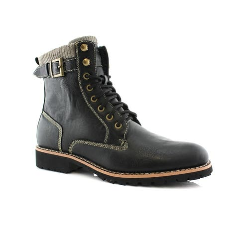 Polar Fox Baldwin MPX508572 Mens Combat Boots For Casual Wear or Work