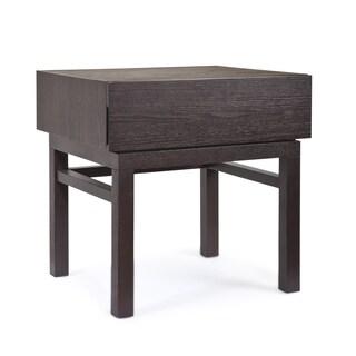 Tao Brunswick Brown Oak-finish Wood End Table