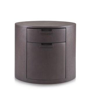 Tao Pierce Brown Arc 2-drawer Nightstand