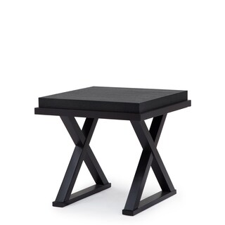 Tao Yukon Brown Wooden Square End Table