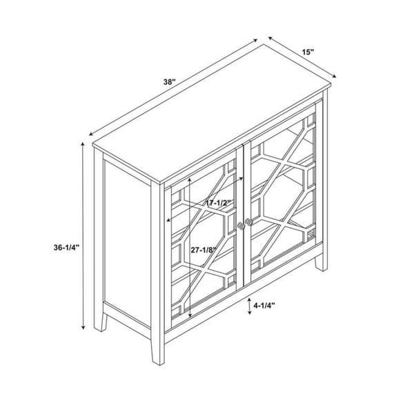Drake Grey Large Cabinet