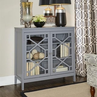 Link to Drake Grey Large Cabinet Similar Items in Bookshelves
