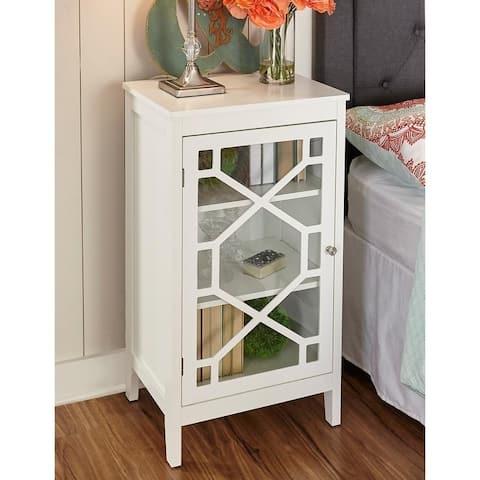 Drake White Small Cabinet