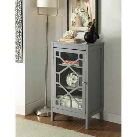 Drake Grey Small Cabinet