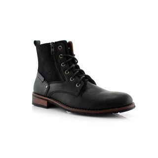 Polar Fox Harrison MPX808582 Men's Dress Ankle Boots For Work or Casual Wear