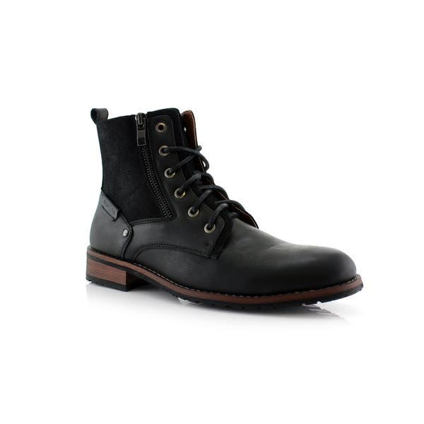d08421ad1 Polar Fox Harrison MPX808582 Men's Dress Ankle Boots For Work or Casual Wear