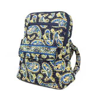 Quilt Paisley 14-inch Backpack|https://ak1.ostkcdn.com/images/products/17983252/P24157127.jpg?impolicy=medium