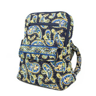 Quilt Paisley 14-inch Backpack