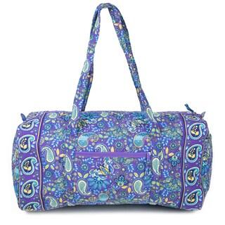 Quilt Paisley 22-inch Duffel Bag