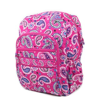 Quilt Paisley 17-inch Backpack