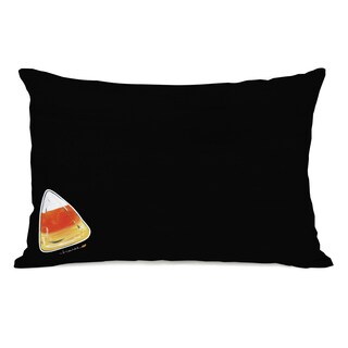 Halloween Candy Corn - Multi inch Throw Pillow by Timree