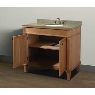 "Cambridge 36"" Vanity with Quartz Top and Sink Set"