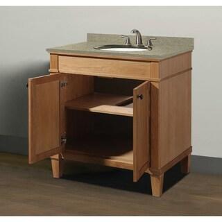 "Cambridge 30"" Vanity with Quartz Top and Sink Set"