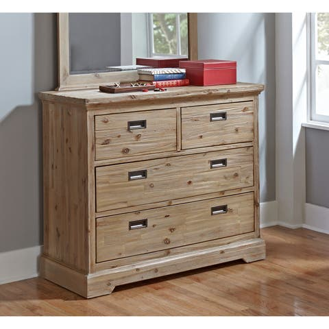 Hillsdale Oxford 4 Drawer Dresser, Cocoa