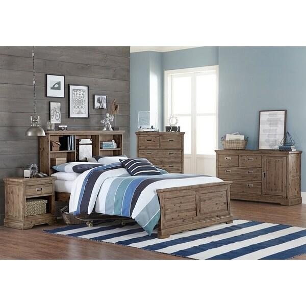 Hillsdale Oxford Bookcase Full Bed, Cocoa