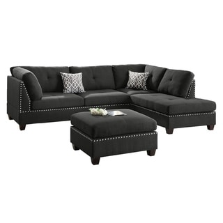Tremendous Buy Bonded Leather Sectional Sofas Online At Overstock Our Machost Co Dining Chair Design Ideas Machostcouk