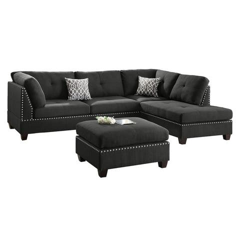 Buy Black Sectional Sofas Online at Overstock | Our Best Living Room ...