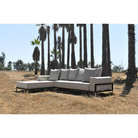 SOLIS Nubis Sectional Outdoor Deep Seated 2-piece Patio Set