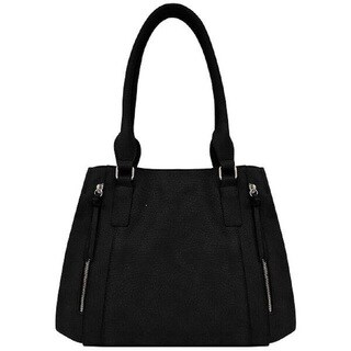 Bueno Faux Leather Grained Pebble Tote Bag