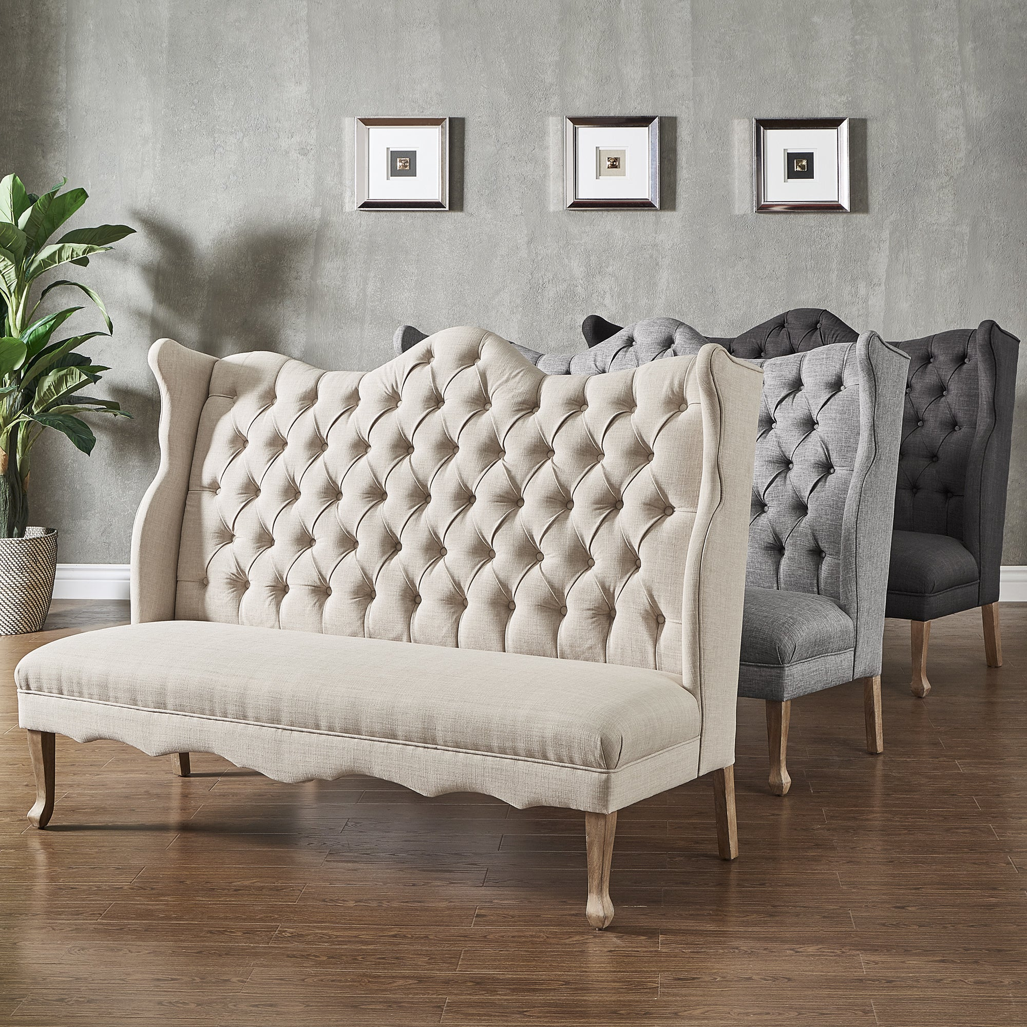 Sawyer-Curved-Back-Tufted-Linen-Upholstered-Bench-by-