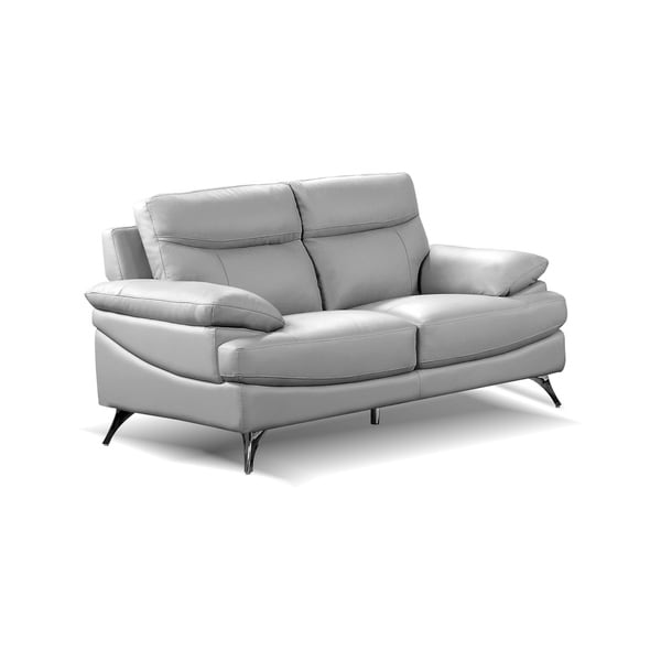 Shop Best Quality Furniture Upholstered Leather Loveseat
