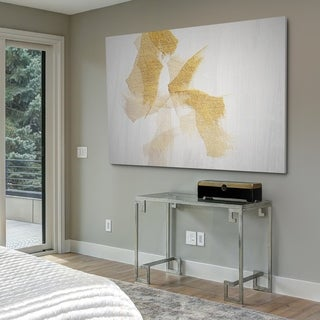 Gold on Stone - Gallery Wrapped Canvas