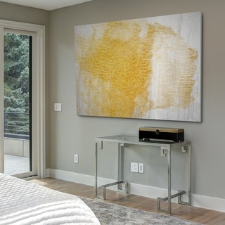 Gold ofn Stone II - Gallery Wrapped Canvas