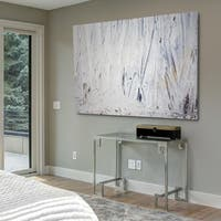 Maonsy Blue - Gallery Wrapped Canvas
