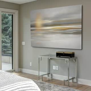 Soft Sea - Gallery Wrapped Canvas|https://ak1.ostkcdn.com/images/products/17990267/P24163434.jpg?impolicy=medium