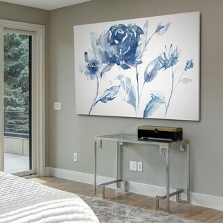Translucent Blues I - Gallery Wrapped Canvas