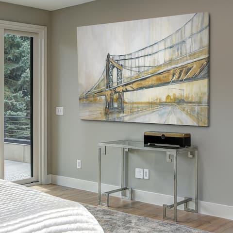 Brooklyn Rain - Gallery Wrapped Canvas