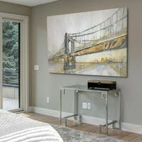 Brooklyn Rain - Gallery Wrapped Canvas