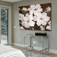 White Chocolate Blooms I - Gallery Wrapped Canvas